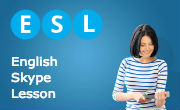 English lessons by Skype for French speakers